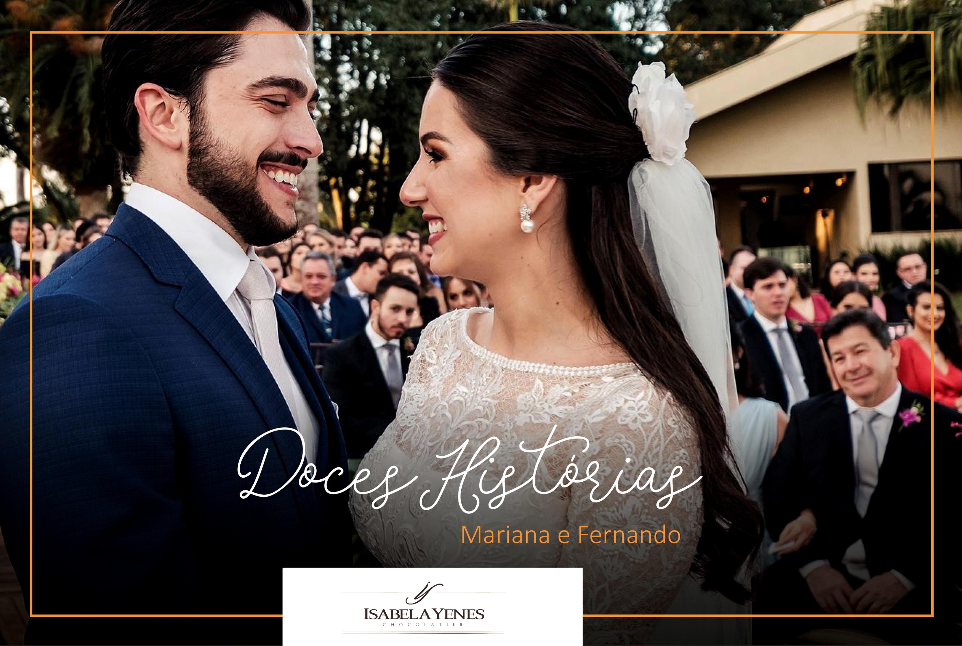 Doces Histórias - Mariana e Fernando